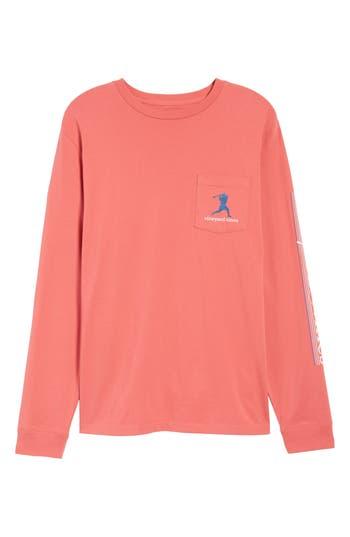 Vineyard Vines Wind Up Shot Pocket T-Shirt, Red