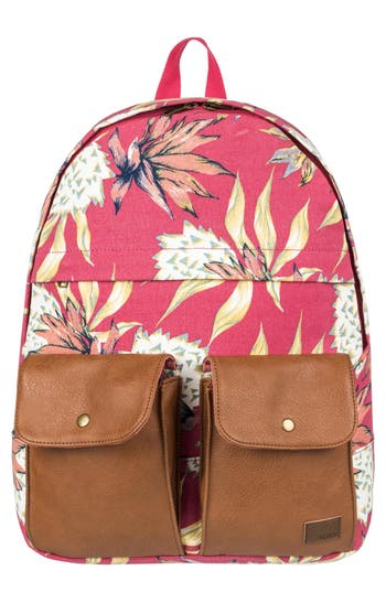 Roxy Stop & Share Backpack - Pink