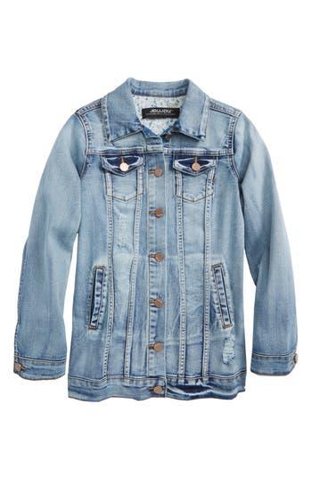 Girls Jou Jou Denise Stretch Denim Jacket