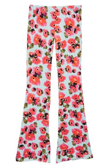Girls Billabong Tell Me Floral Flared Pants
