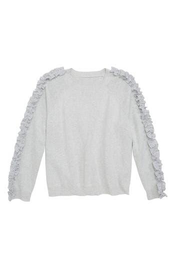 Girls Tucker  Tate Ruffle Sleeve Sweater