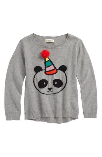 Girls Tucker  Tate Fuzzy Icon Sweater