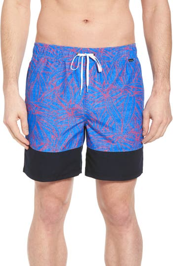 Hurley Pupkea Volley Board Shorts, Blue