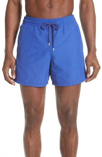 Vilebrequin Starfish Water Reactive Swim Trunks, Blue