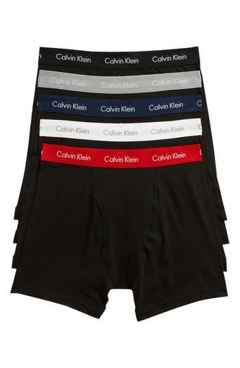 Calvin Klein 5-Pack Boxer Briefs