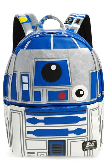 Boys Loungefly X Star Wars R2D2 Faux Leather Backpack