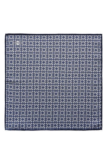 Eton Tile Pocket Silk Pocket Square