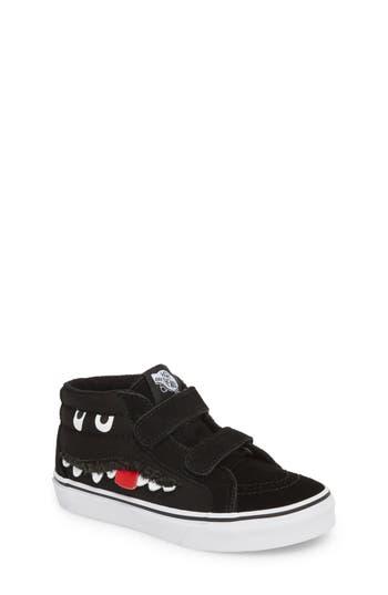Boys Vans Sk8Mid Reissue V Sneaker Size 4 M  Black