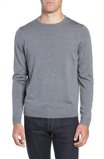 Nordstrom Men's Shop Crewneck Merino Wool Sweater