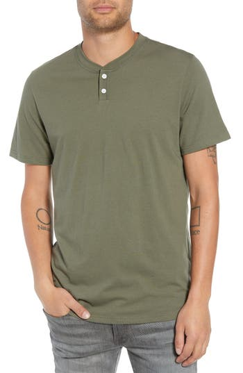 The Rail Solid Henley T-Shirt