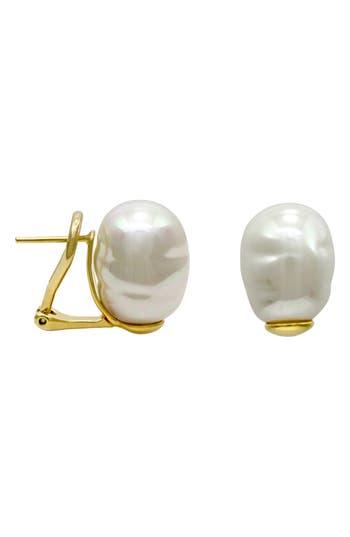 Majorica Baroque Stud Earrings