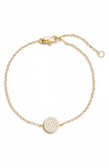 Nordstrom Pavé Disc Bracelet
