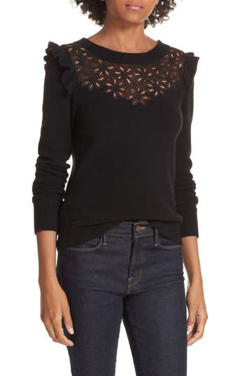 EMILIE EMBROIDERED SWEATER