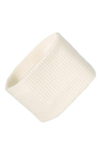 Halogen® Ribbed Cashmere Head Wrap
