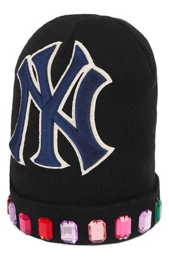 Gucci NY Jewel Wool Knit Cap