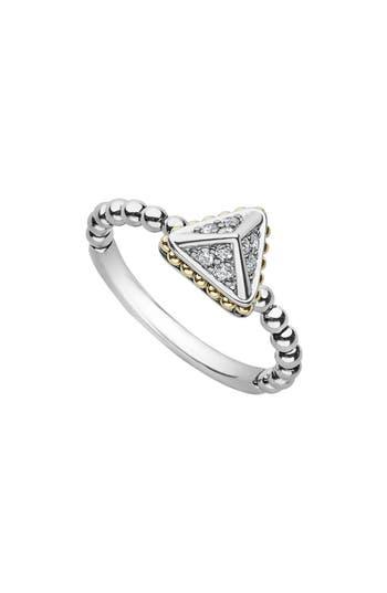 LAGOS KSL DIAMOND PYRAMID RING