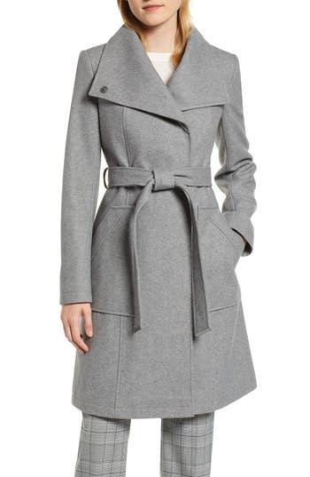 Halogen® Belted Wool Blend Coat