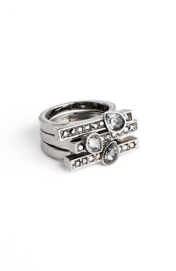 St. John Collection Triple Row Cocktail Ring