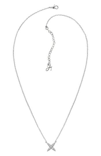 ADORE CRYSTAL 4-POINT STAR NECKLACE