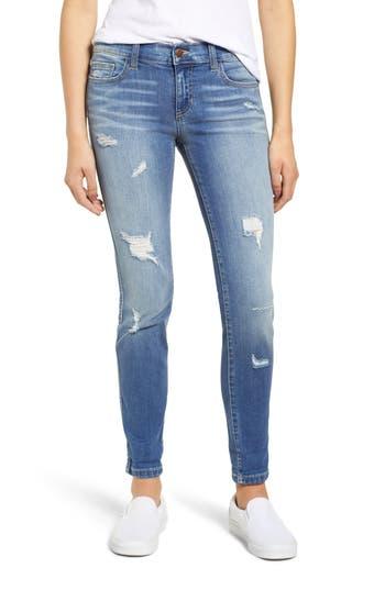 SP Black Distressed Boyfriend Jeans