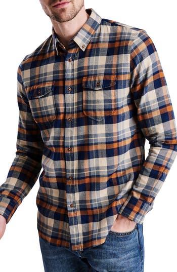 Barbour International Cutter Flannel Shirt