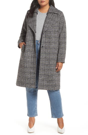 Halogen® Double Fold Collar Coat