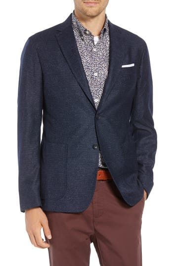 1901 Extra Trim Fit Wool & Silk Sport Coat