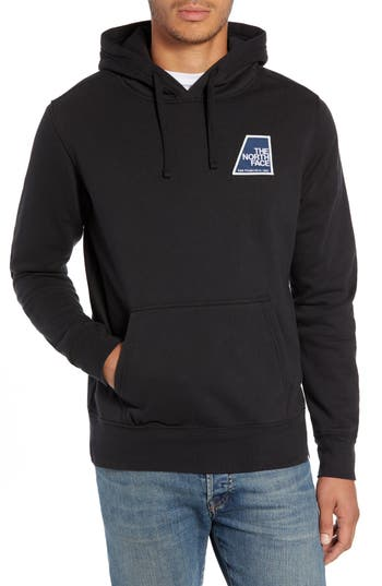 North Face Logo Patch Pullover Hoodie