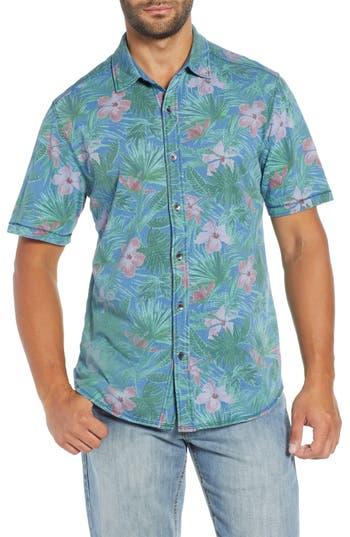 Tommy Bahama Indigo Jungle Topia Camp Shirt