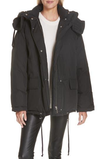 Helmut Lang Removable Hood Puffer Jacket