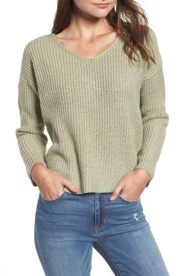 ASTR the Label Twist Back Sweater