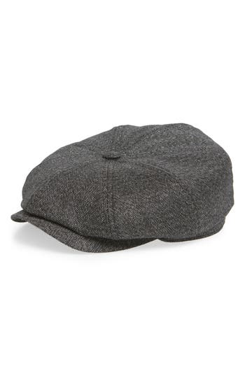 Ted Baker London Herringbone Baker Boy Hat
