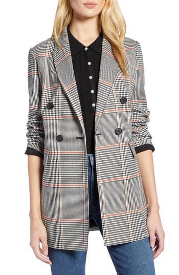 Halogen® x Atlantic-Pacific Menswear Plaid Blazer