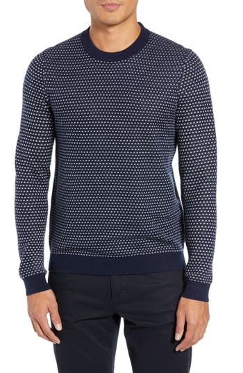 Ted Baker London Malttea Slim Fit Textured Sweater