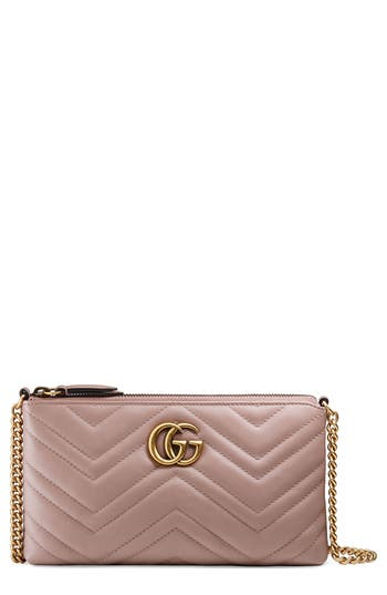 Gucci Marmont 2.0 Leather Wallet on a Chain