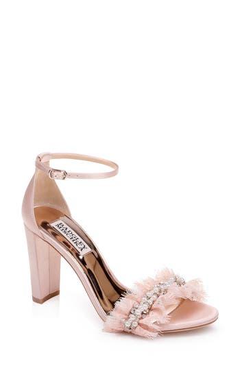 Badgley Mischka Fleur Ankle Strap Sandal (Women)