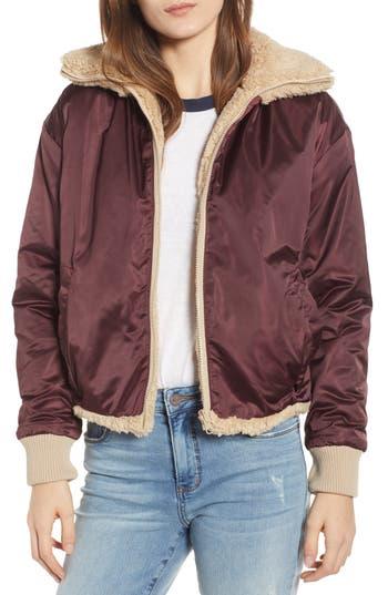 BP. Reversible Teddy Jacket