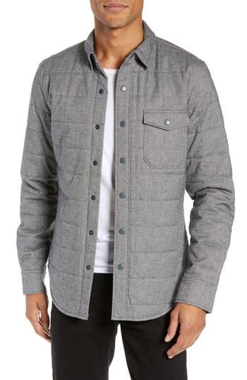 Bonobos Quilted Herringbone Shirt Jacket