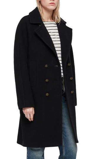ALLSAINTS Anita Wool Blend Coat