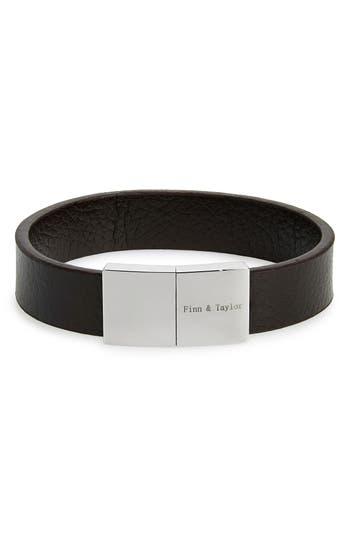 Finn & Taylor Leather Bracelet