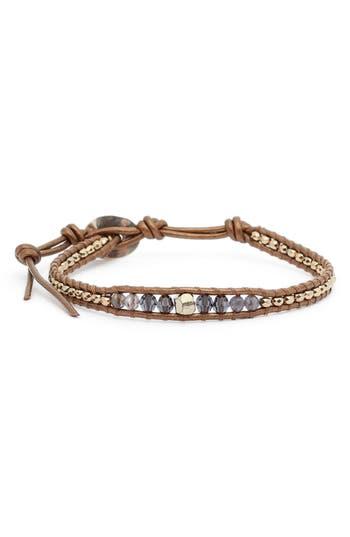 Chan Luu Mixed Stone Single Wrap Bracelet
