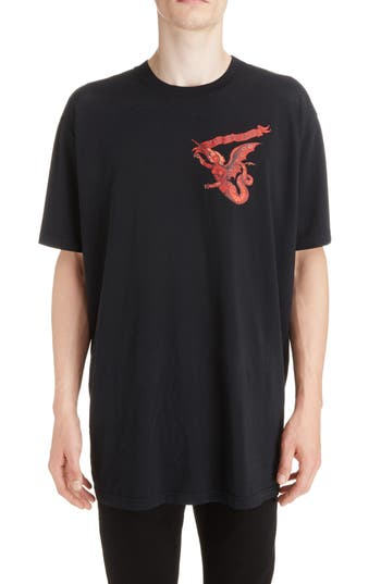 Givenchy Winged Beast Graphic T-Shirt
