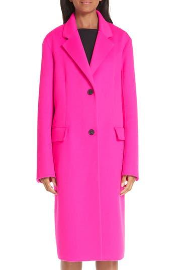 CALVIN KLEIN 205W39NYC Wool, Angora & Cashmere Coat