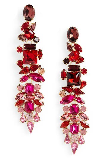 Stella + Ruby Dynasty Statement Earrings