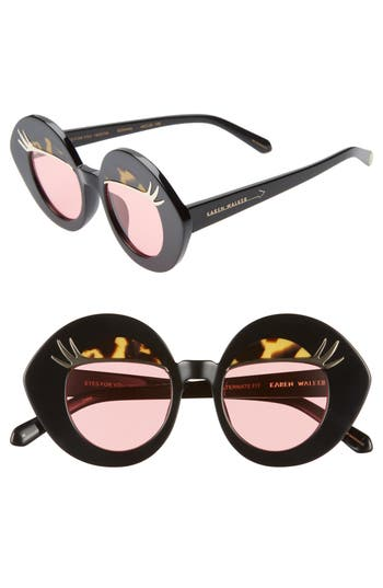 Karen Walker x Disney Minnie Mouse Eyes for You 44mm Round Sunglasses