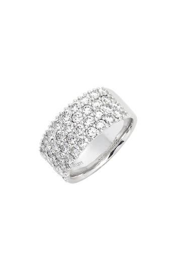 Bony Levy Getty 4-Row Diamond Ring