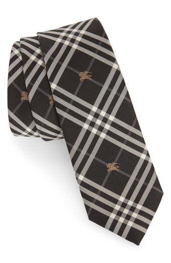 Burberry Stanfield Microcheck Silk Tie