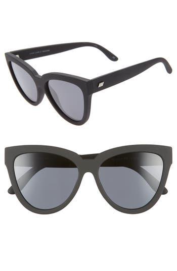 Le Specs Liar Liar 57mm Polarized Cat Eye Sunglasses