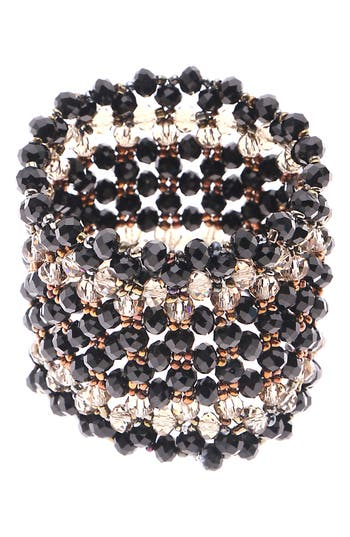 Nakamol Design Crystal Stretch Bracelet