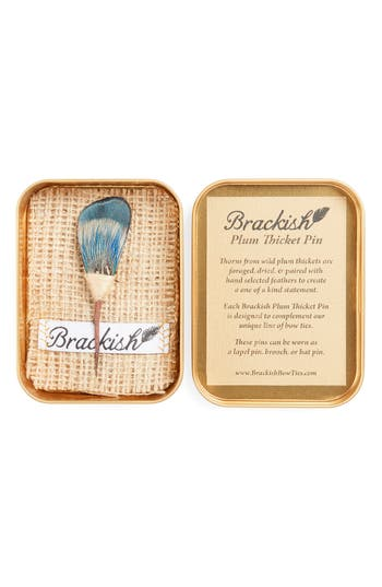 Brackish & Bell Caines Lapel Pin